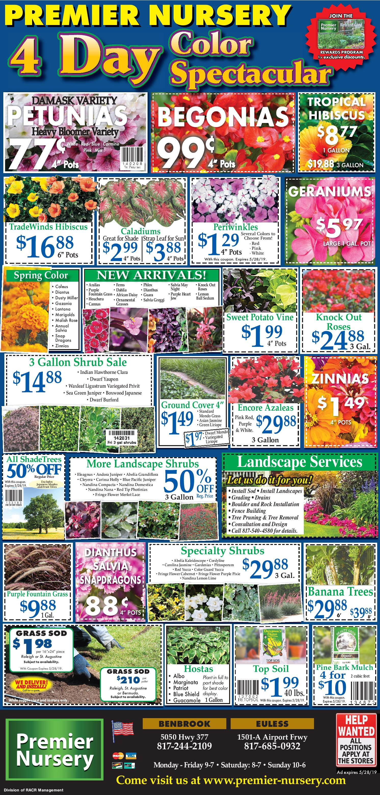 Premier Nursery Weekly Coupons
